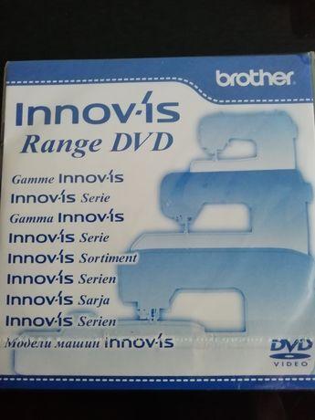ДВД швейной машинки Brother