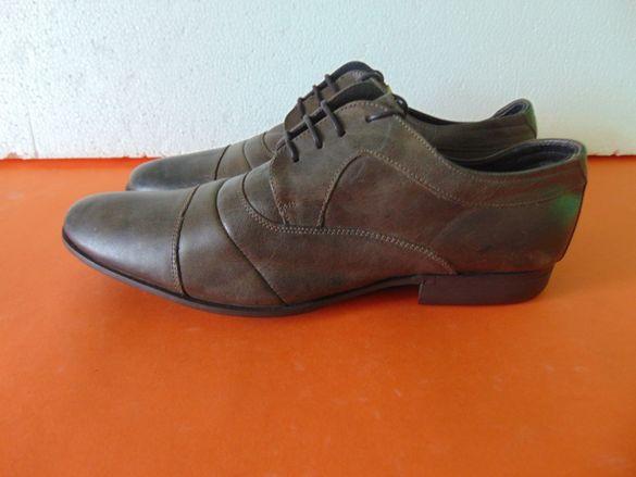 НОВИ Van Beers номер 44 Оригинални мъжки обувки