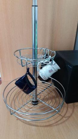 Кухонный держатель для чашек на пружине