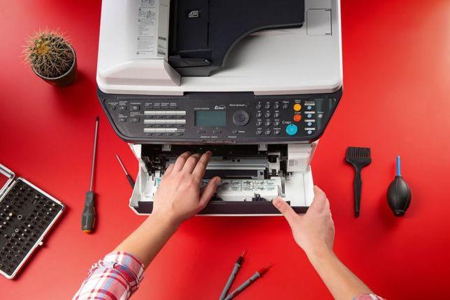Ремонт лазерных и струйных принтеров .Заправка картриджей