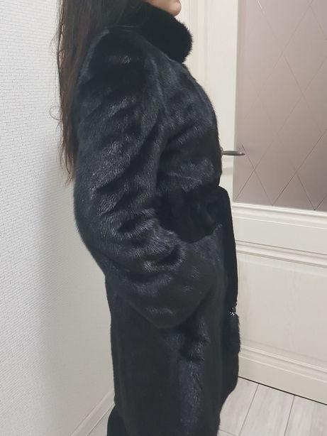 Шуба норковая размер S