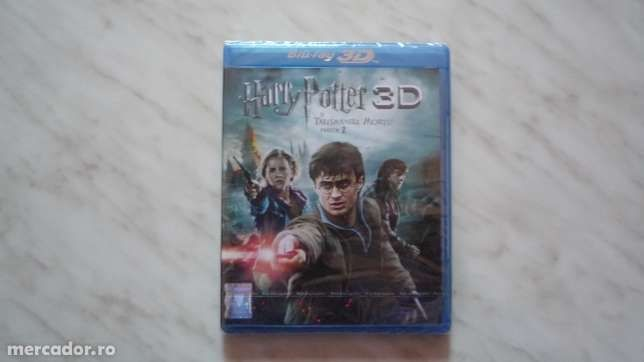 Film Blu-ray 3D Harry Potter si talismanele mortii partea a2a