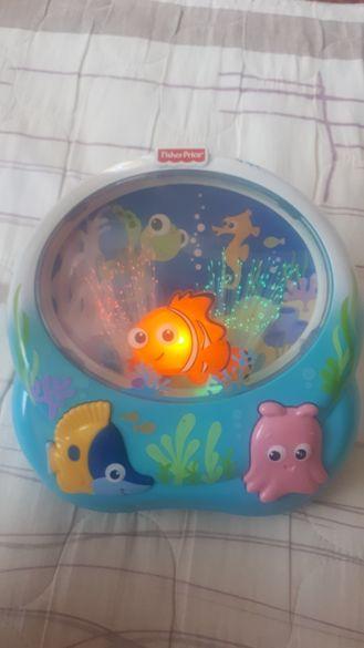 Музикална лампа за детско легло