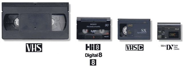 Оцифровка видео-кассет, VHS, VHS-C, MiniDV, Hi8, Digital 8, DVD диски