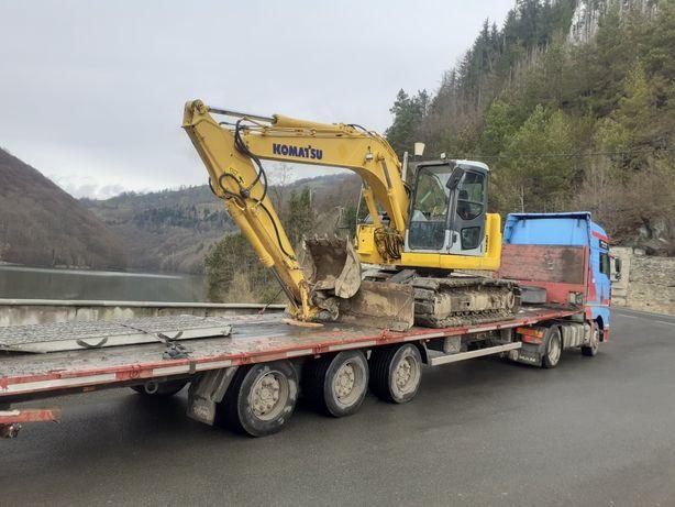 Închiriez Excavator 14,5 tone(Drumuri Forestiere, excavatii)