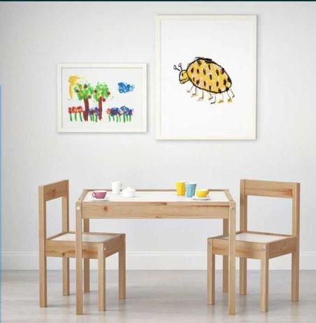 Детска масичка с два стола! ТОП ЦЕНА
