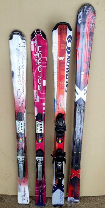 SALOMON schiuri skiuri NOI Fete damă dimensiuni diferite cu legaturi Vatra Dornei - imagine 1