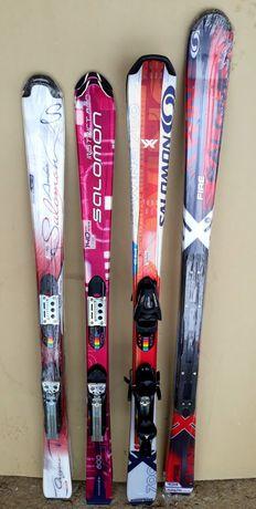 SALOMON schiuri skiuri NOI Fete damă dimensiuni diferite cu legaturi