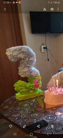 Украса за рожден ден пепа пиг