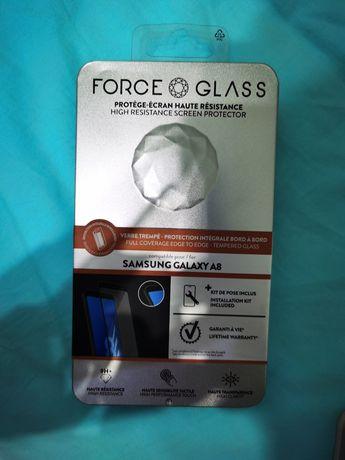 Folie sticla Samsung Galaxy A8 ForceGlass