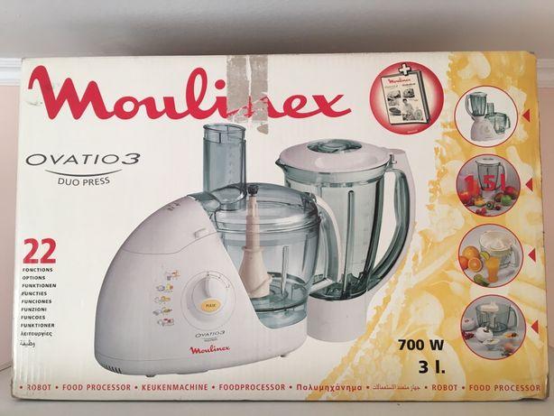Кухонный комбайн Moulinex ovatio 3 duo press