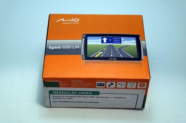 GPS Mio Spirit 695 LM, Full Europe + actualizari gratuite pe viata