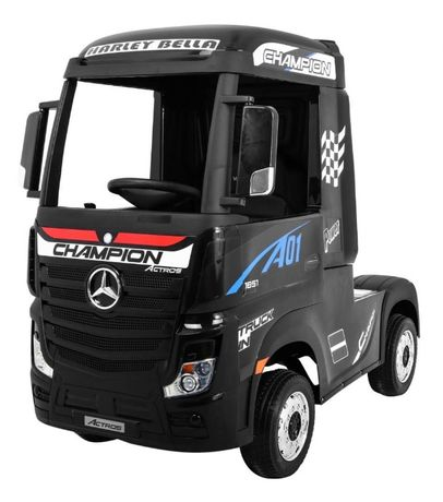 Masinuta electrica pt copii Camion Mercedes Benz ACTROS (358) 4x4negru