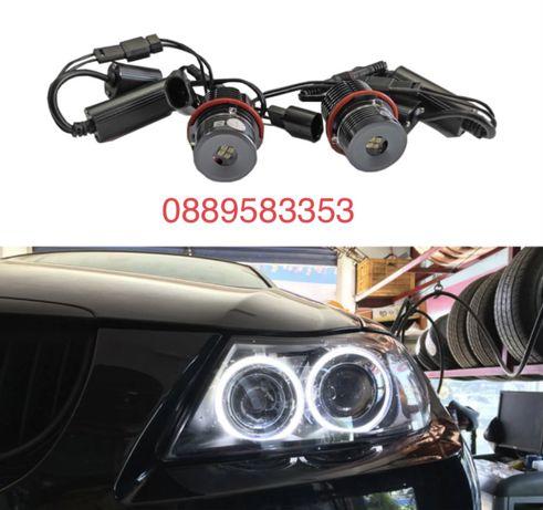 LED Крушки Angel Eyes ЛЕД Ангелски Очи BMW E39,E53,E60,E61,E64,Е83