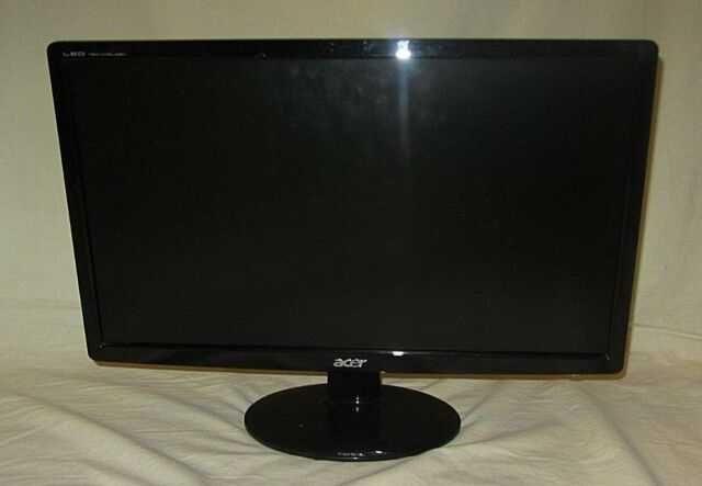 монитор Acer S201HL BD LED LCD Диагональ 20. доставка бесплатно