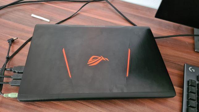 Laptop Asus ROG GL553VE ssd, nvme, 1050ti 16gb ram Gaming