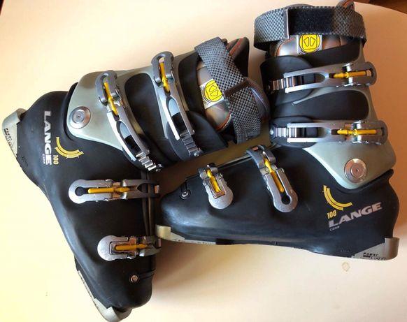 Lange Comp 100 Ski Boots clapari