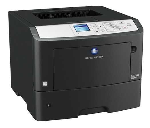 Лазерен принтер Konica Minolta Bizhub 4700P с 20 000 стр. тонер касета