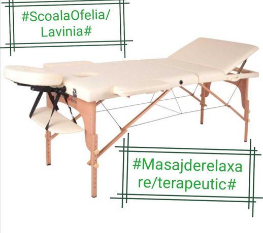 Masaj terapeutic/Masaj de relaxare
