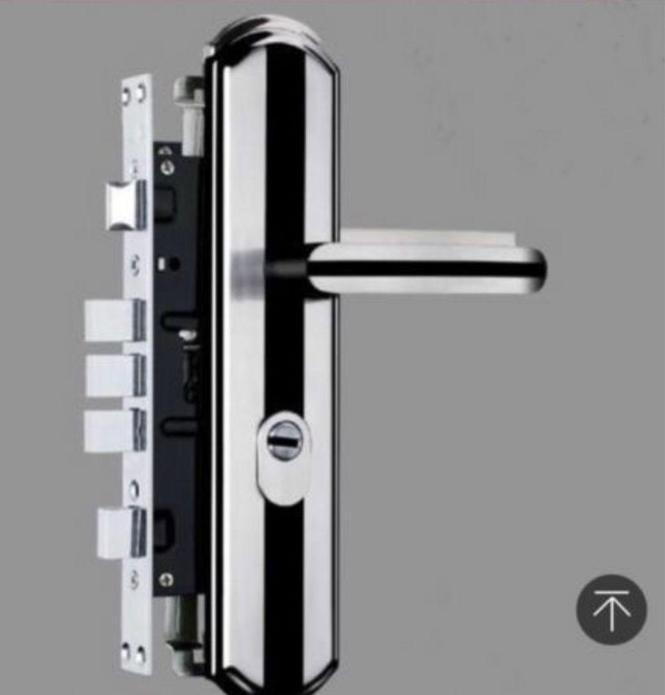 Дръжки Брава и Патрон за китайски метални врати