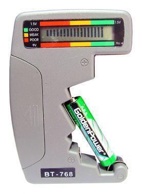 Tester Pentru Baterii - BT-768
