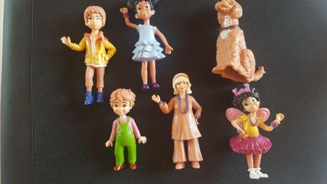 OFERTA! Set 6 figurine Fancy Nancy Clancy 8-9 cm