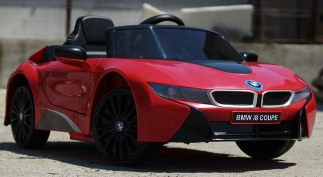 Masinuta electrică pentru copii BMW I8 Coupe 12V 2x20W #RED