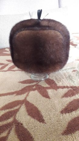 Продам шапку норковую.