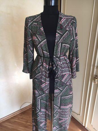 Kimono, haina lunga, sacou, halat de vara, material fluid