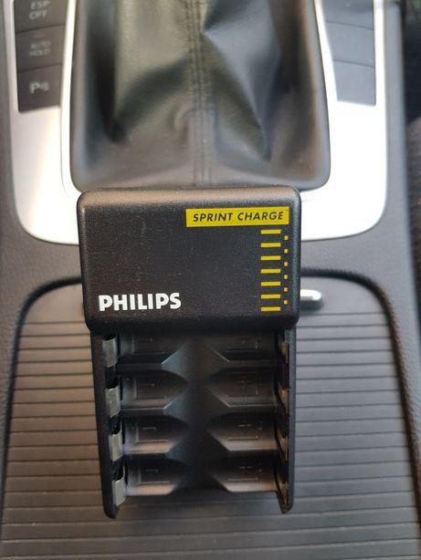 Incarcator Philips Fast Charge ptr Acumulatori Reincarcabili AA