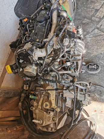 MOTOR complet 1.5 DCI , 110 cp , 18.000km