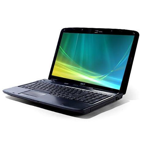Лаптоп Acer Aspire 5735-4624 Двуядрен процесор T3200 RAM-3GB,HDD-160 G