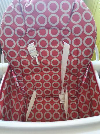 Scaun de masa Chicco Pocket Lunch, 6 luni+, Rosu