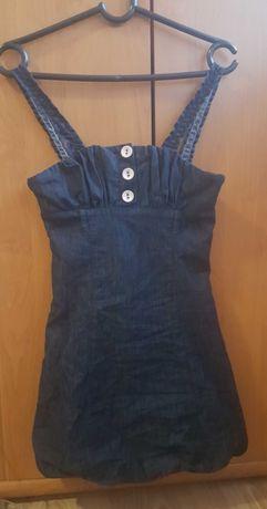 Детска дънкова рокля с болеро Contrast