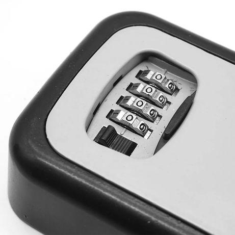 Сейф/Кутия за ключове с код/Airbnb/Booking.com/гараж/хотел/офис/къща
