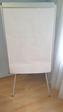 Маркерная доска flipchard + набор листов бумаги