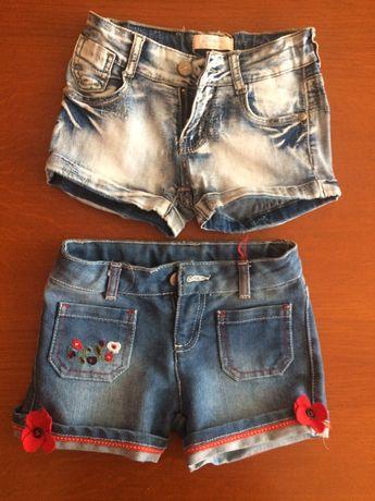 Къси дънкови панталони и комплект