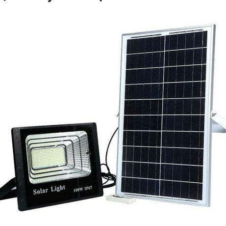 Продам новый уличный прожектор на солнечной батареи