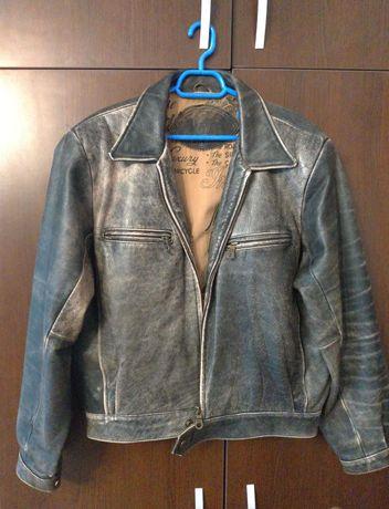 Geaca jacheta piele naturala Trapper moto cruise  country vintage