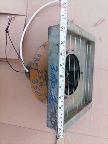 Ventilator aerisire bucătării shaormerii