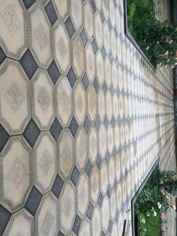 Тротуарные, цокольные и фасадные плитки. Брусчатка, шлакоблок, ворота.