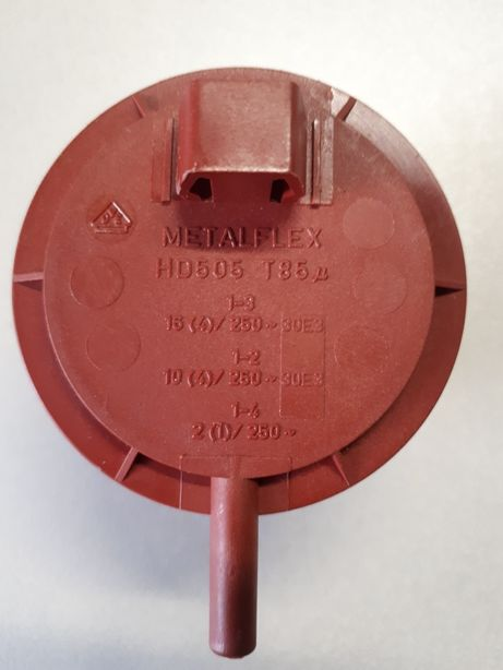 Presostat Metaflex HD505-T85 şi releu KPL 3524pt.masina spalat Gorenje