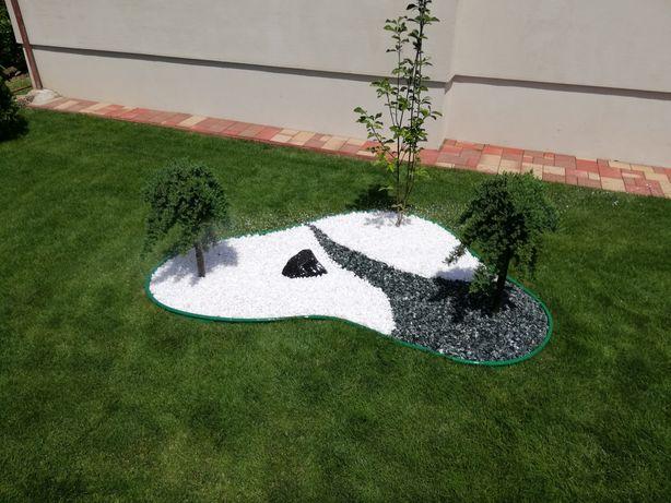 Amenajări spatii verzi, gazon rulou, sisteme de irigații Rain bird