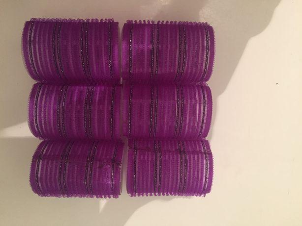 Бигуди липучки , папильотки -жгуты для завивки волос, расческа -1000 т