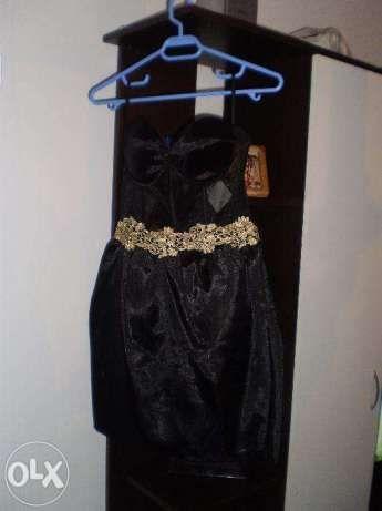 Rochia de seara neagra, corset plasa, cupe buretate, Andreea Balan