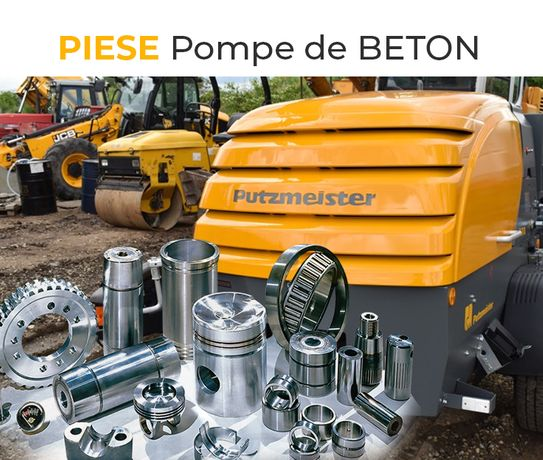 Piese Pompe de Beton - Originale, Noi - Piese Putzmeister, Pompă șapă