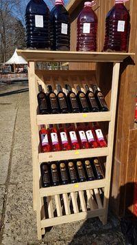 Наличен - стилаж за вино - 28 бутилки