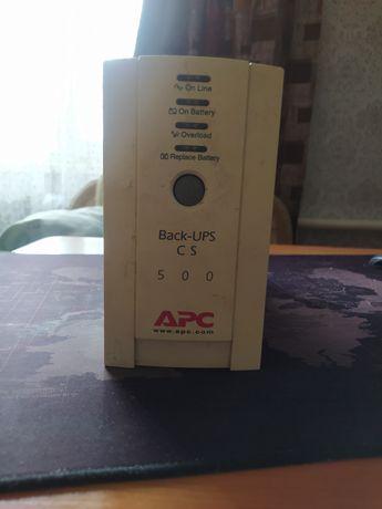 Бесперебойник ИБП APC BK500EI Back-UPS 500