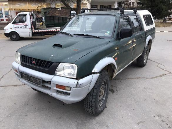 НА ЧАСТИ! Mitsubishi L200 2.5TDi, 99кс. Hardtop, Климатик, ЛЯВ ВОЛАН