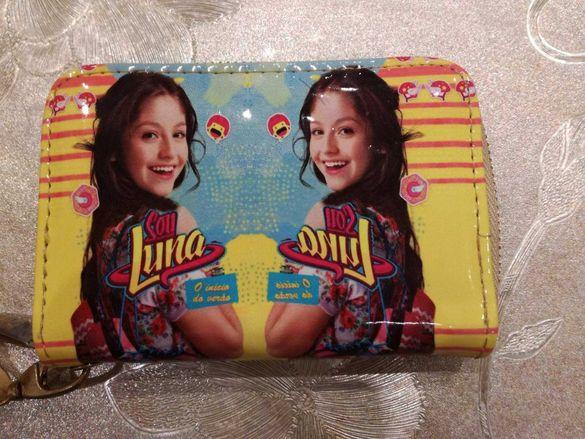 Детско портмоне с картинка Soy Luna